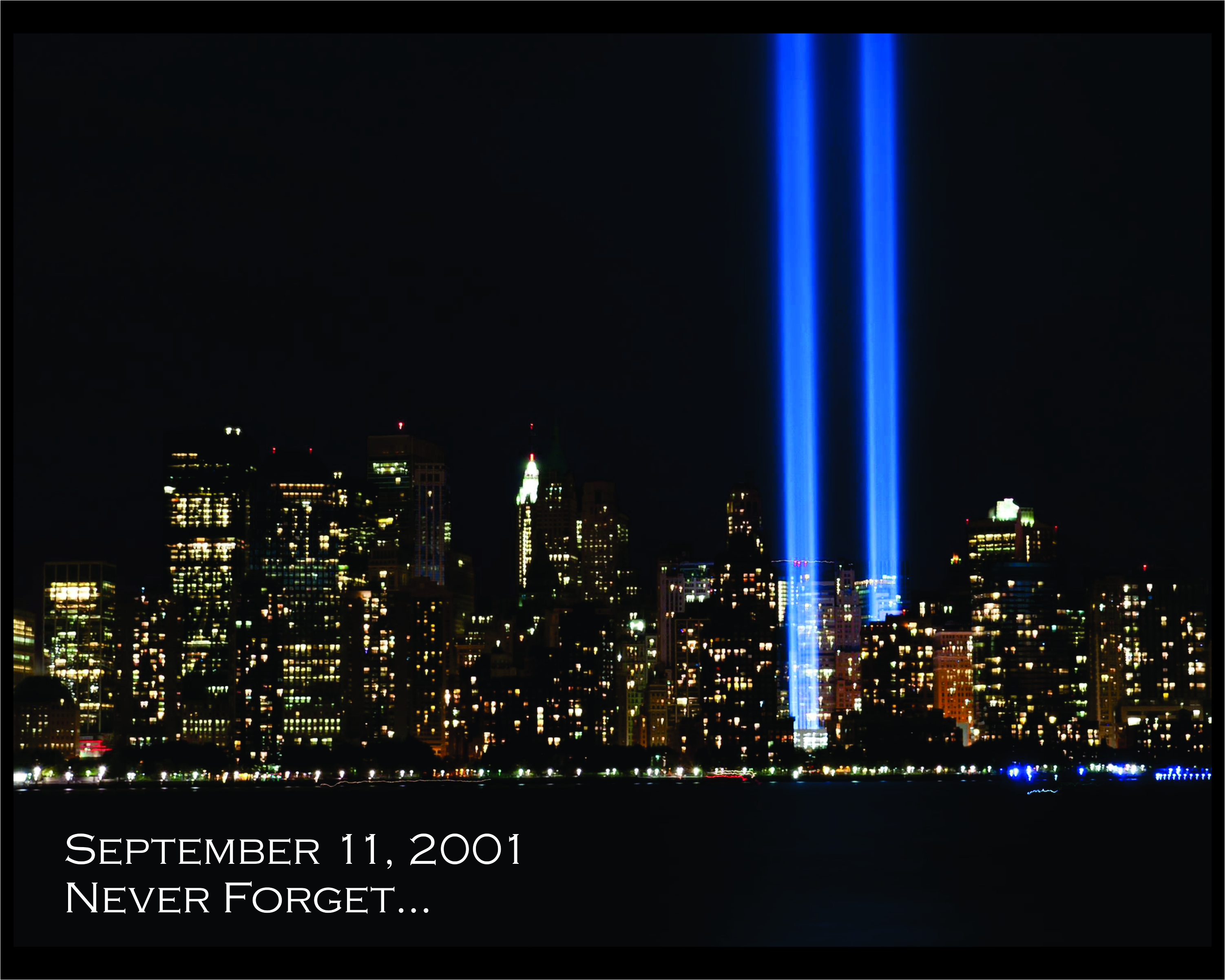 we should never forget september 11th Every year i try to do something different to commemorate the anniversary of 9/11 because it's something we should never ever forget today i want you to hear a few stories from people who were either in the world trade center towers or who were part of the first responders on that terrible day.